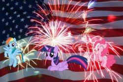 FANMADE-_4th_of_July_with_MLP_characters.jpg