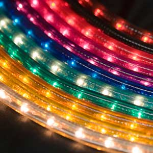 Decorating with Rope Lights