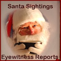 North Pole Santa Sightings