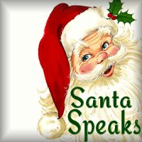 Santa Speaks from the North Pole