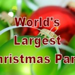 Just 100 Days Until the World's Largest Christmas Party!