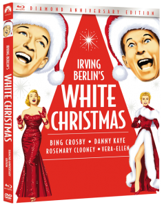 Celebrate 60 years of holiday magic with the spectacular new Diamond Anniversary Edition of Irving Berlin's WHITE CHRISTMAS. Plus, for a limited time, receive a free holiday music CD with the purchase of every Blu-ray Combo Pack. Irving Berlin's WHITE CHRISTMAS - available now on Blu-ray Combo Pack, DVD and DIGITAL HD from Paramount Home Media Distribution.