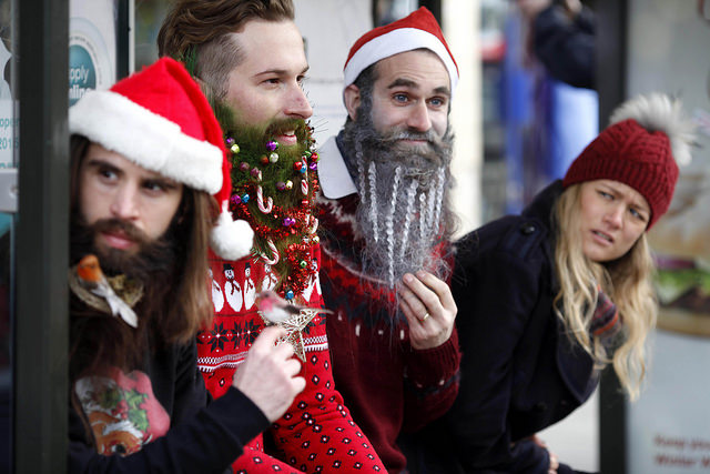 Say Hello to Christmas Beards