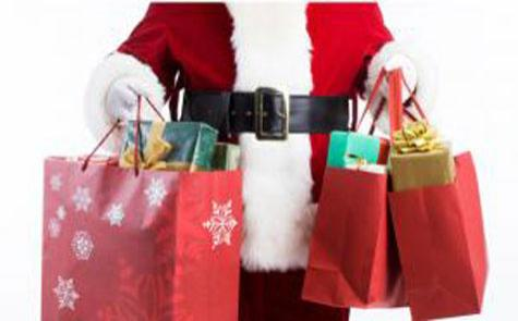 Christmas Eve Shoppers