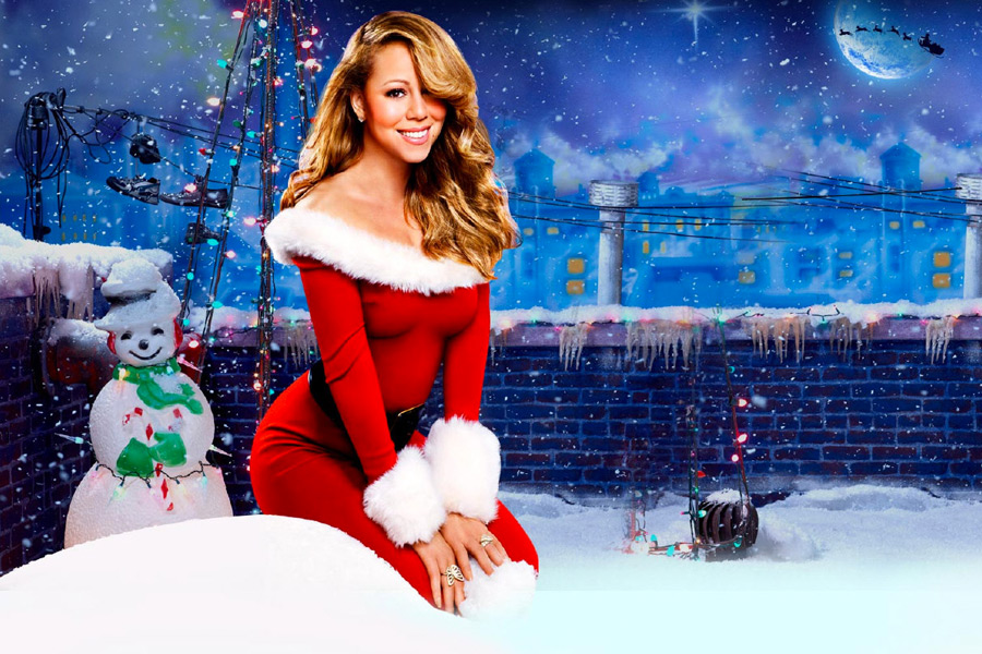 Mariah Carey Bets on Christmas - My Merry Christmas