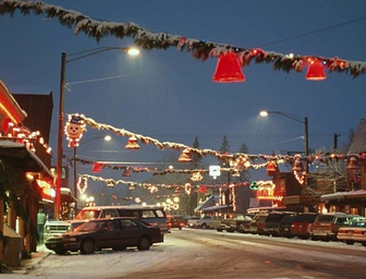 Christmas in Billings, Montana 1954