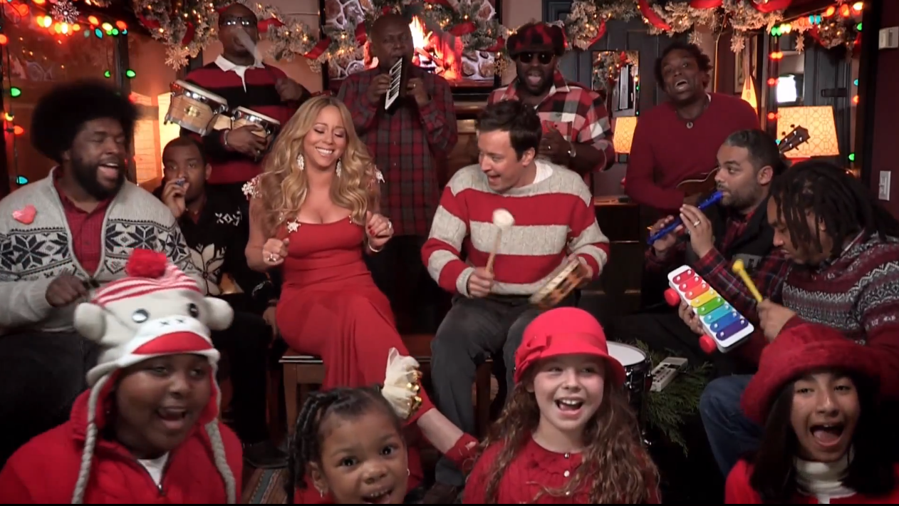 Jimmy Fallon Wants Mariah Carey for Christmas