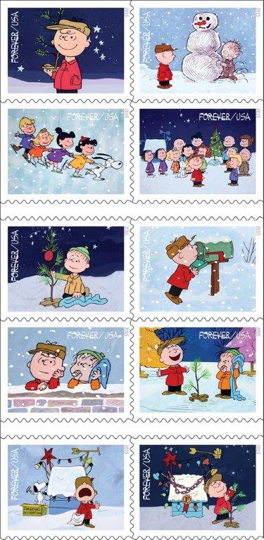 CharlieBrownStamps
