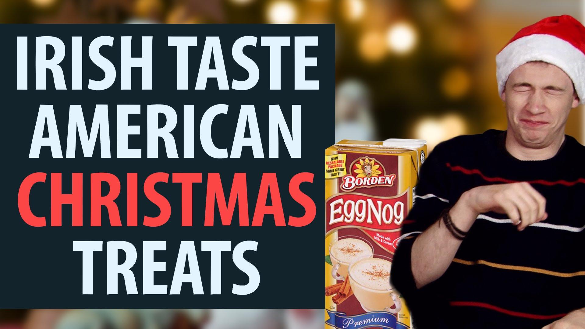 Irish People Eat American Christmas Foods