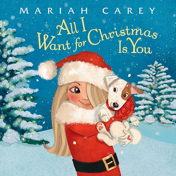 Mariah Carey Turns Song into a Christmas Book