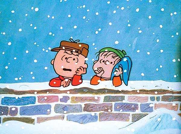 Charlie Brown and Friends Get Christmas Stamp Series for 2015