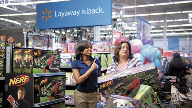 Walmart Launches Christmas Layaway