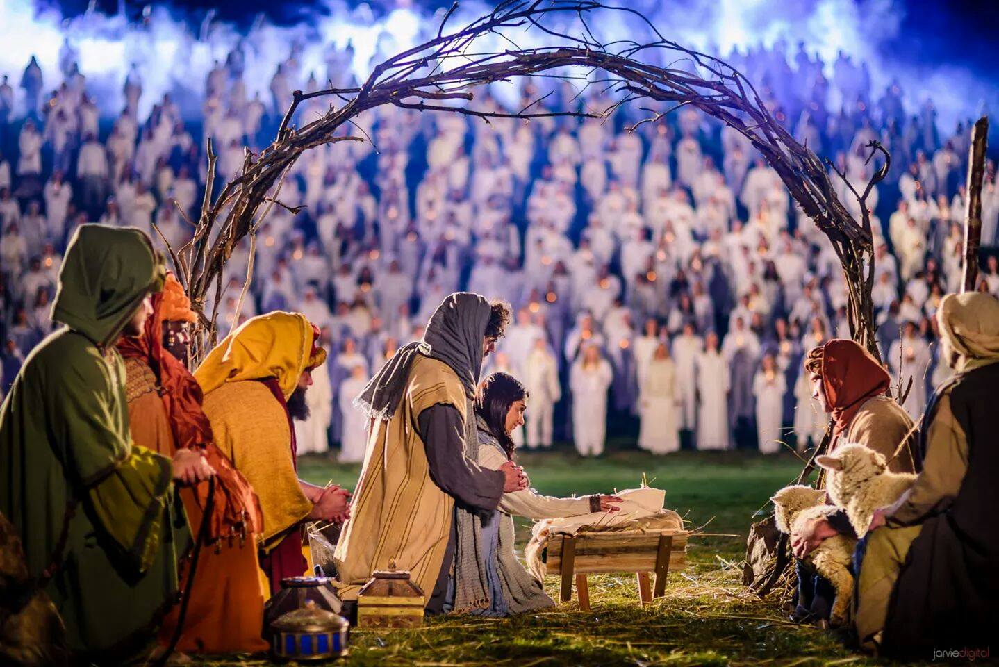The World's Largest Living Nativity
