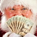 Cashing in on Santa