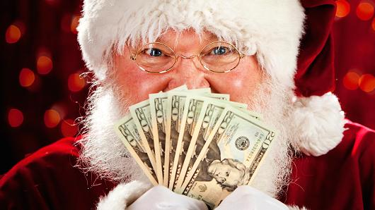 Cashing in on Santa