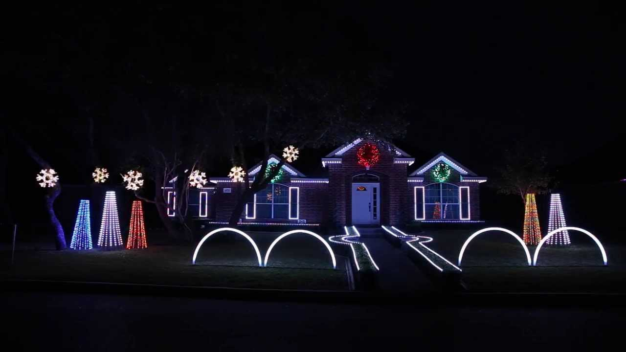 Johnson Light Show Fires Up in San Antonio
