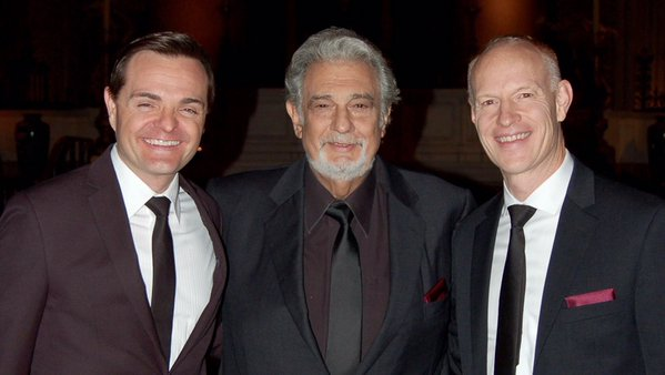 Piano Guys with Placido Domingo Perform Silent Night