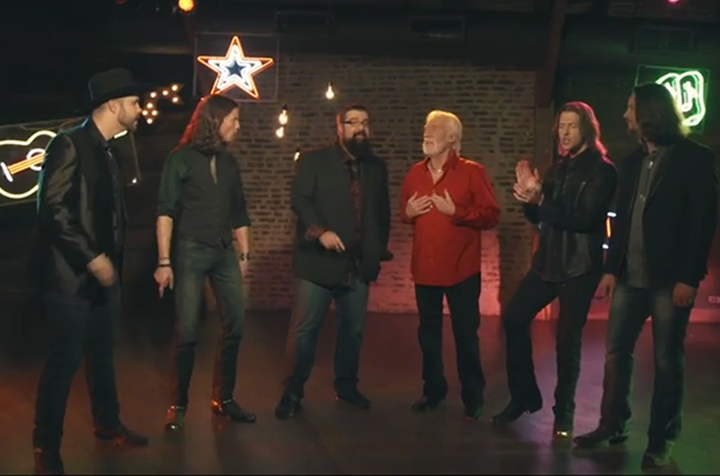 Kenny Rogers and Home Free Rock Children Go Where I Send Thee