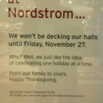 The Truth about Nordstroms and Thanksgiving