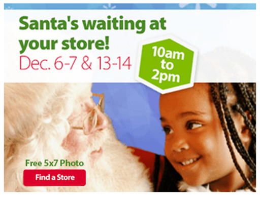 Welcome to Walmart, Santa