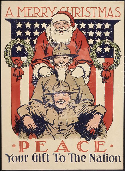 438px-Peace._Your_Gift_To_The_Nation._A_Merry_Christmas._-_NARA_-_512601