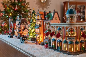 Christmas Villages.History Of Christmas Villages My Merry Christmas