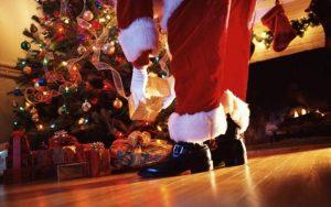 Playing Santa