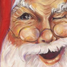 The History and the Mystery of Santa's Wink