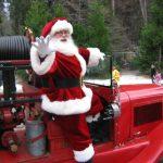 The Servant Santa on Parade