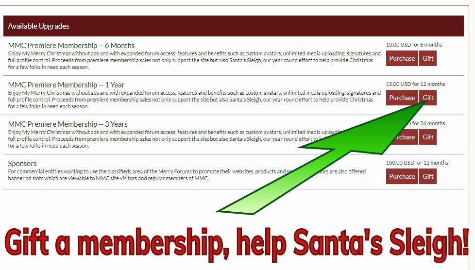 gift a premiere membership