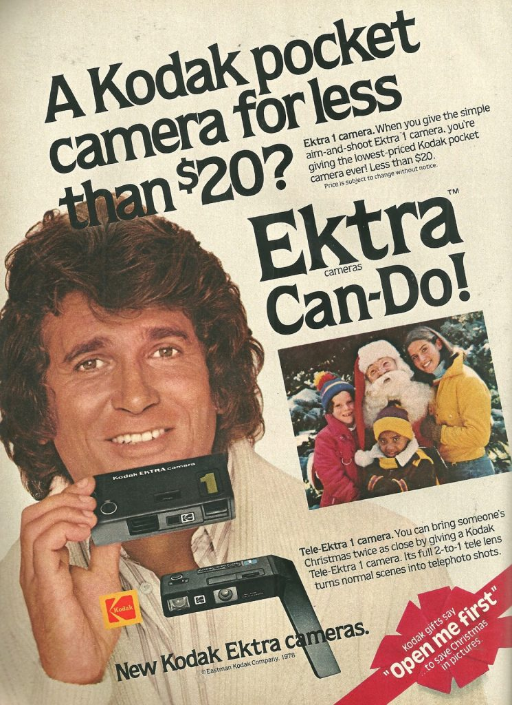 Kodak Camera of the 1970s