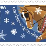 Jingle Bells Christmas stamps