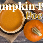 Pumpkin Pie Poetry