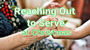 reaching out to serve