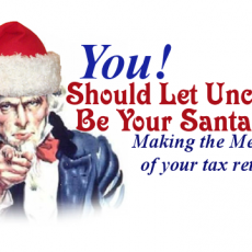 Why the Tax Man is My Santa Claus