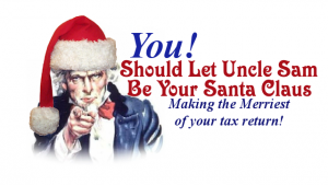 Why the tax man is my Santa