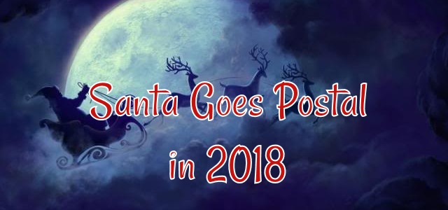 2018 Postage Stamps to Feature Traditional Santa