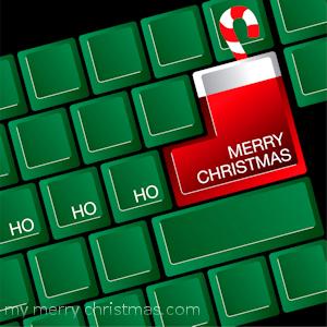 Christmas on social media