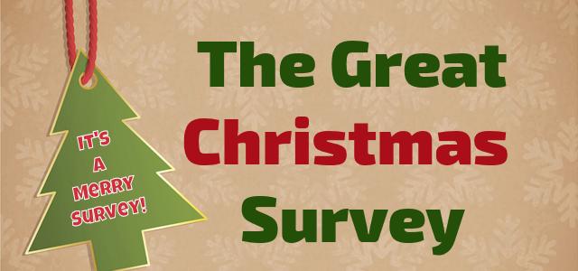 Take a Christmas Survey