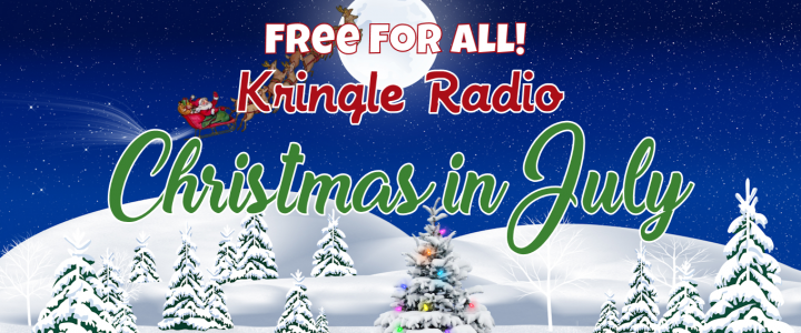 Free Kringle Radio for Christmas in July