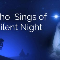 Anonymously Singing of Silent Night