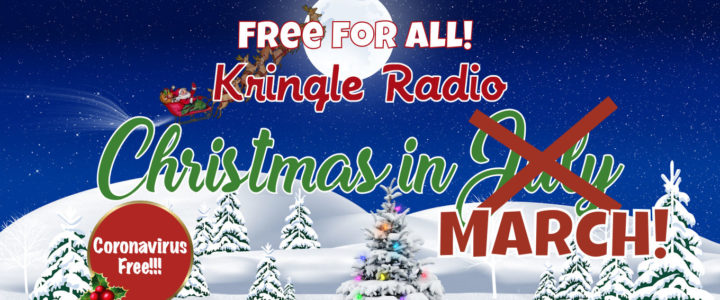 Free Kringle Radio to Fight Coronavirus