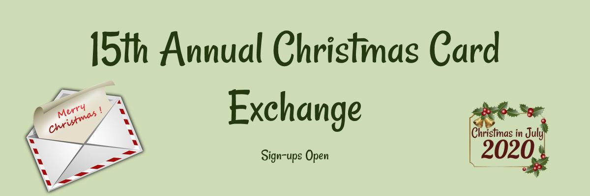 Christmas Card Exchange