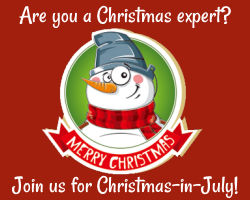 Christmas Experts at Christmas in July