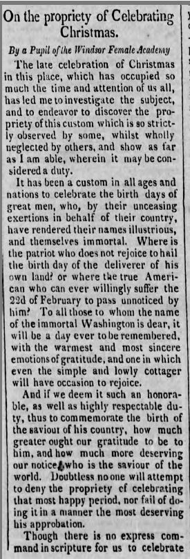 Christmas 1818
