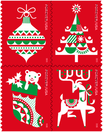 Holiday Delights stamps