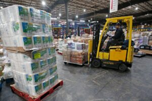 Pandemic Pallets at Associated Foods