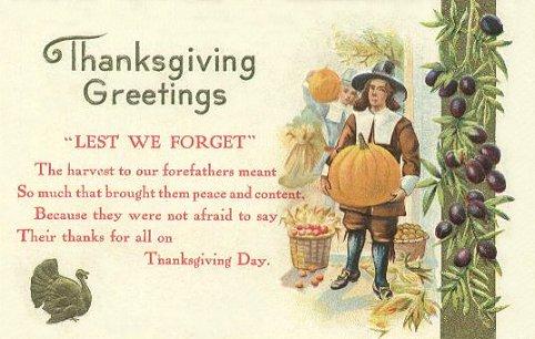19th Century Thanksgiving