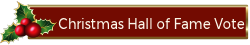 Vote at the Christmas Hall of Fame