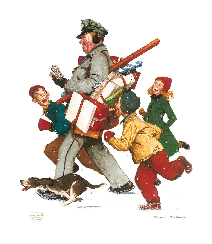 Christmas Postman